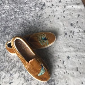 Saludos velvet sneakers